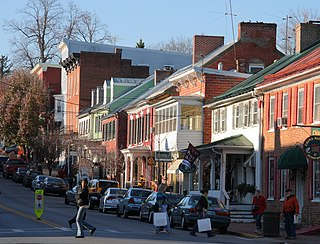 Shepherdstown Historic District United States historic place