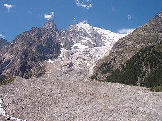 Brenva Glacier