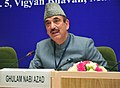Ghulam Nabi Azad addressing at the adoption of Delhi Declaration of the South Asian Autism Network (SAAN) for Autism Spectrum Disorders Conference, in New Delhi on February 11, 2013.jpg