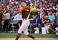 Giancarlo Stanton competes in semis of '16 T-Mobile -HRDerby. (28574677395).jpg