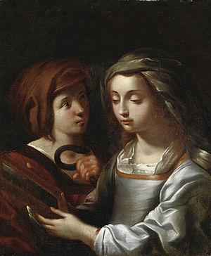 Ginevra Cantofoli - Scena Allegorica. Date unknown.