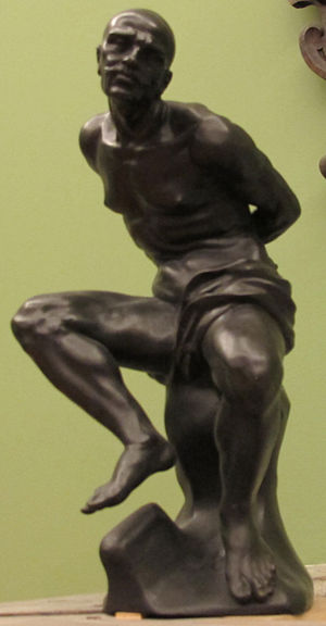 Giovanni Battista Foggini - Chained captive, Asia by Foggini
