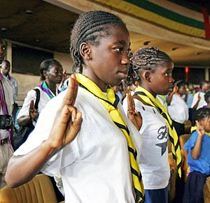 Girl Guides in the Central African Republic