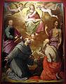 Girolamo macchietti e bottega, assunzione della vergine, 1577-78, da s. clemente a sociana (reggello), 01.JPG