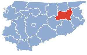 Giżycko County - Image: Gizycko County Warmia Masuria