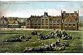 Glatz, Neue Kaserne am Puhberge, Postkarte 1907.jpg