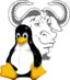 Символы Linux и логотип GNU