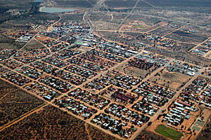 Gobabis - Aerial view in 2005