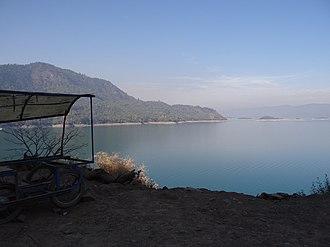 Bhakra Dam - Gobind Sagar Lake (Bhakra Dam Reservoir)