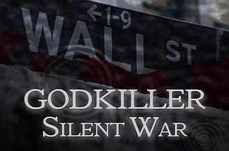 Godkiller - Godkiller: Silent War audiobook cover (2009)