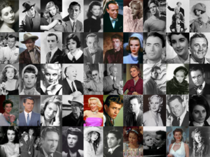 Montage of Golden Hollywood