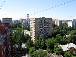 Neighborhood in Golyanovo District
