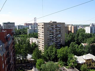 Golyanovo District District in Moscow, Russia
