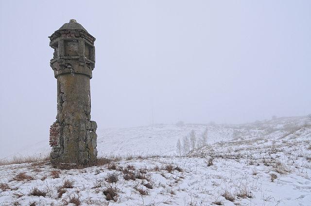 8th place, Roadside monument-tower in Holohory, Lviv Oblast, by Сергій Криниця (Haidamac)