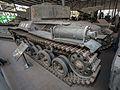 Gongchen tank (captured type 97 Shinhoto Chi-Ha) rear-left 2016 Military Museum Beijing.jpg