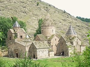 Goshavank - The monastic complex of Goshavank.