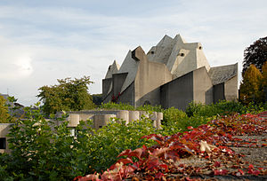 Gottfried böhm, pilgrimage church, neviges 1963-1972 - 02.jpg