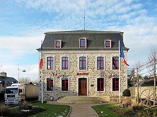 Gouville-sur-Mer Commune in Normandy, France