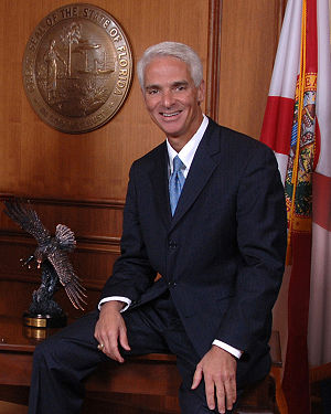 Official photo of Florida Governor Charlie Crist