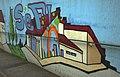 Graffiti Bahnunterführung Walldorf - Mörfelden-Walldorf - subway graffito - 01.jpg