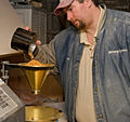 Grain is tested when it is delivered to the Annville Flouring Mill.jpg