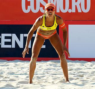 Juliana Silva Brazilian beach volleyball player