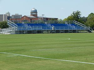 Houston Baptist Huskies - Image: Grandstands Sorrells Field