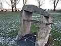 Granit mit Eisenrohren von Sybille Kreynhop 1996 (3).jpg