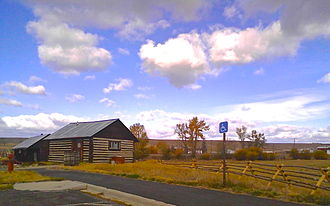 Grant-Kohrs Ranch National Historic Site - Grant-Kohrs Ranch visitor center