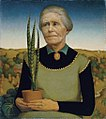 Grant Wood - Woman with Plants.jpg