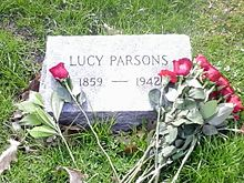 Grave of Lucy Parsons 1may2015 by IWPCHI.jpg