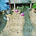 Grave of Serge Gainsbourg, Cimetière du Montparnasse, Paris 001.jpg