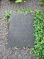 Grave of swedish writer axel wallengren lund sweden 2008.JPG