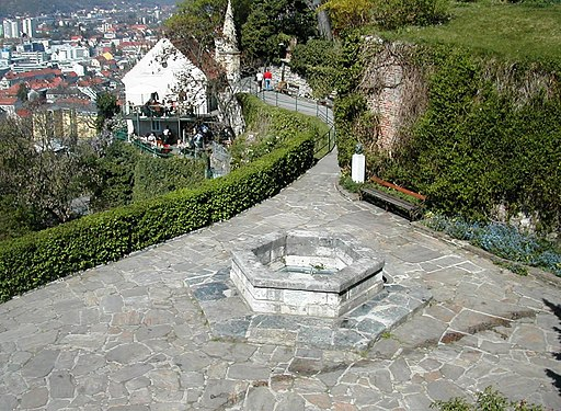 Grazer Schlossberg Tuerkenbrunnen