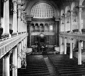 Great Synagogue, Warsaw - Image: Great Synagogue in Warsaw (03)