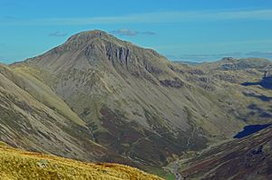 Great Gable - Image: Great gable and sty head