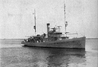 USS <i>Grebe</i> (AM-43) Lapwing-class minesweeper