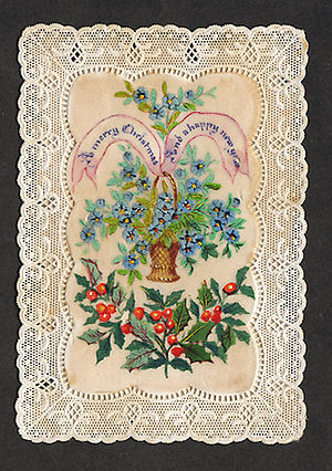 A Christmas card from 1870