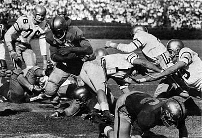 Bobby Grier in the 1956 Sugar Bowl GreirSugarBwolpg322 1956OWL.jpg