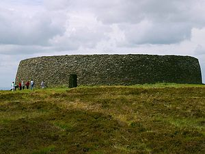 Kings of Ailech - Exterior view of the Grianan of Aileach in County Donegal, the royal fort of the Kingdom of Aileach