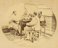Group of Men at Dinner. Shanghai, China, 1874 WDL1920.png