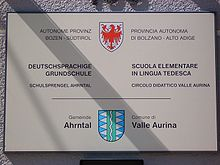 Ufficio Bilinguismo Bolzano : Bilinguismo amministrativo in italia wikipedia