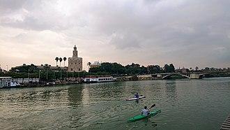 Guadalquivir - Guadalquivir River in Seville