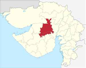 Surendranagar district - Image: Gujarat Surendenagar district