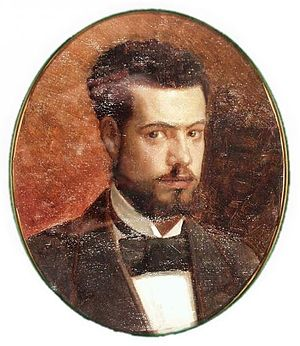 Gunnar Berndtson - Self-portrait (date unknown)