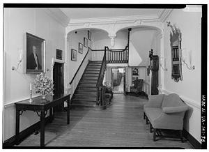 Gunston Hall - Central passage
