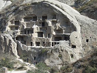 Yanqing District - Ancient cave dwellings of the Guyaju Ruins are located in Yanqing.