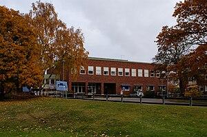 Gymnastik- och idrottshögskolan - Main entrance