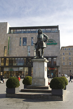 Handel's lost Hamburg operas - The statue of Handel, in Halle