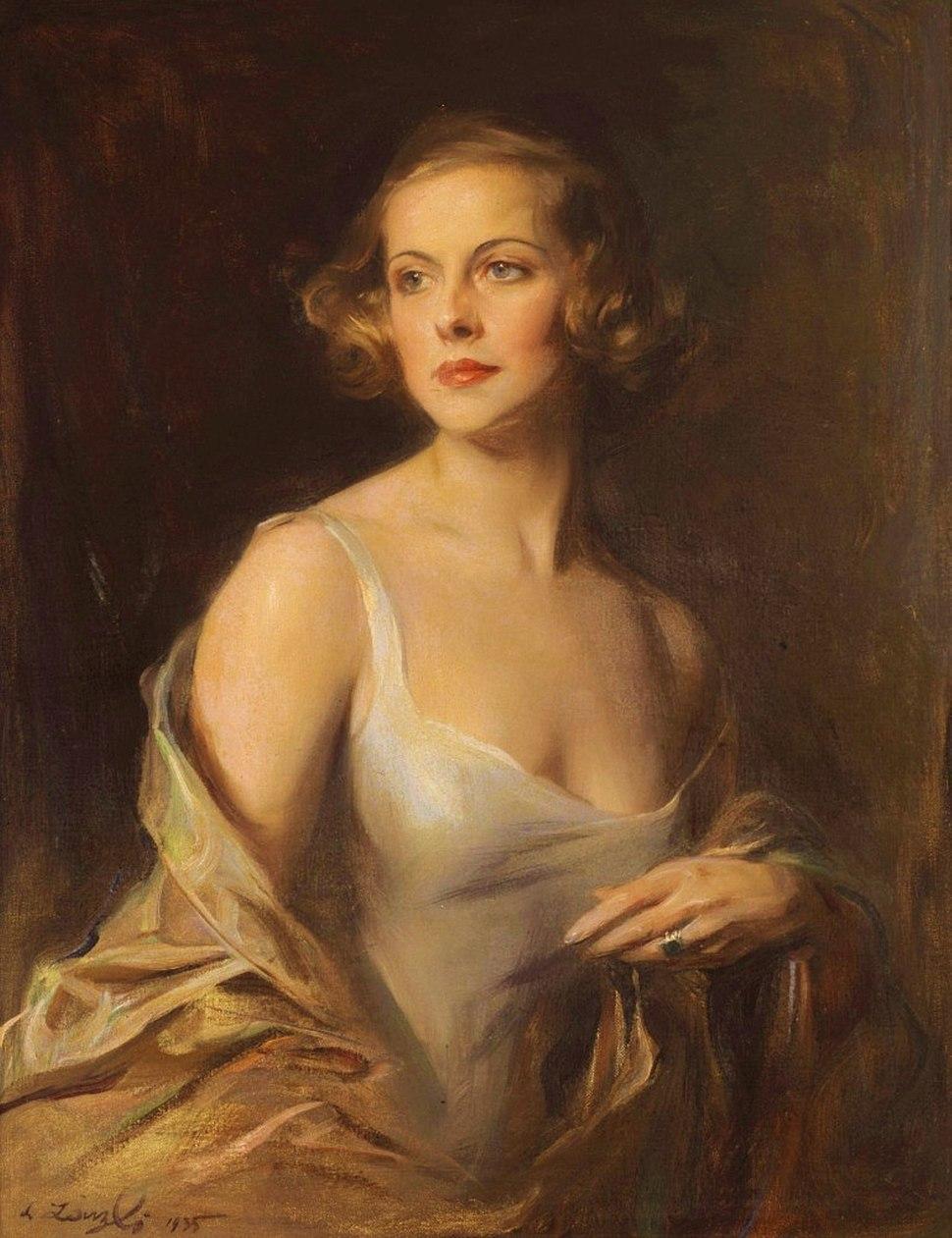 Hélène Charlotte de Berquely-Richards (1908-2004)